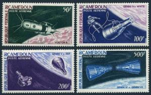 Cameroun C59-C62,MNH.Michel 449-452. Man's conquest of space,1966.