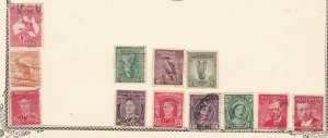 TASMANIA //AUSTRALIA^^^^BOB  x12     T    perfins   $$@x ha 1151xxbaust51