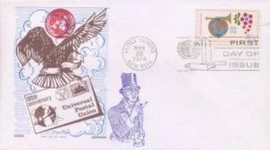 UN #246 U.P.U. - Overseas Mailer