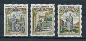[104901] Sovereign order of Malta 1973 Art paintings Christmas Weihnachten  MNH