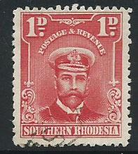 Southern Rhodesia SG 2  FU