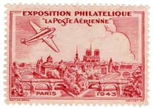 (I.B) France Cinderella : Philatelic Exhibition (Paris 1943)