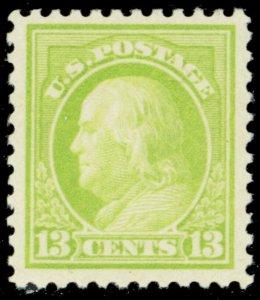 513, Mint VF/XF NH 13¢ Franklin Stamp - Stuart Katz