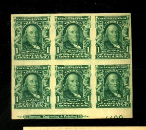 314 MINT Pl Blk FVF OG LH Cat$200