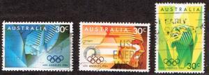 Australia # 922 - 924  U