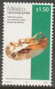MEXICO 2490, $1.50P HANDCRAFTS 2005 ISSUE. MINT, NH. F-VF.