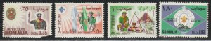 Somalia #310-313 Mint Lightly Hinged Full Set of 4