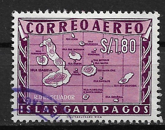 1957 Galapagos Sc LC2 Map 1.80s used