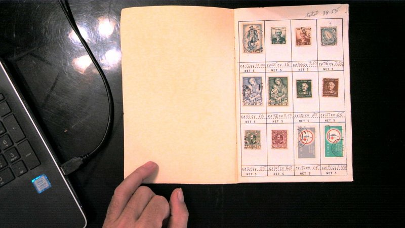 IRELAND COLLECTION IN APPROVAL BOOK, MINT/USED