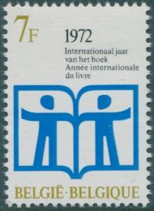 Belgium 1972 SG2264 7f Book Year emblem MNH