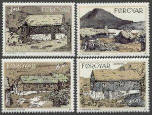 1992 Faroe Islands 239-242 Painting 6,00 €