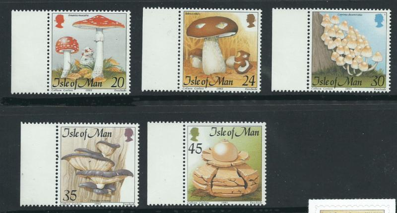 Isle of Man MUH SG 662-666 Margin Copy