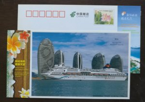 Star Cruise Genting Passenger Liner,CN 12 hainan island holiday paradise PSC