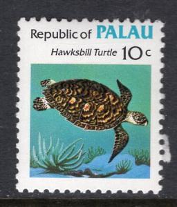 Palau 12 Turtle MNH VF