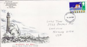 1985, Great Britain: Safety at Sea, FDC (S18735)