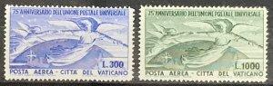 Vatican City #C18-C19 MNH CV$180.00 Angels and Globe [50259]