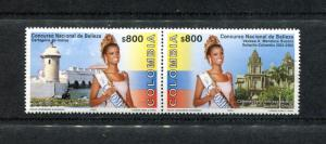 Colombia 1183, MNH, National Beauty Pageant 2001. x23445