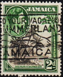 Jamaica. 1938 2d S.G.124b Fine Used