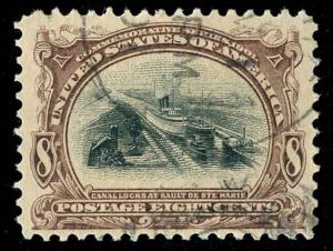 momen: US Stamps #298 Used XF