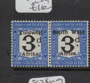 South West Africa SG D37 MOG (9dwd)
