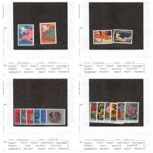 Lot of 75 Yugoslavia MNH Mint Stamps Scott Range 1182 - 1842 #150995 X R