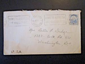 Bermuda 1915 Cover to USA - Z5084