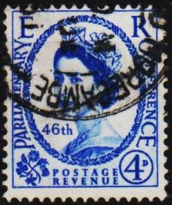 Great Britain.1957 4d S.G.560 Fine Used