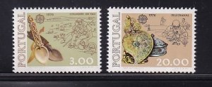 Portugal  #1283-1284  MNH  1976  Europa