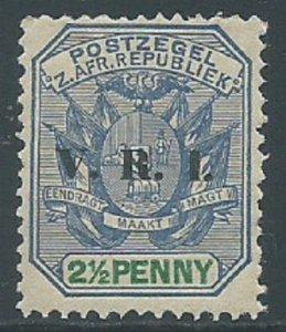 Transvaal, Sc #205, 2-1/2d MNH