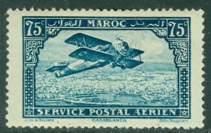 FRENCH MOROCCO : 1922-27. Yvert #A4 Very Fine, Mint OG HR. Catalog €95.00.