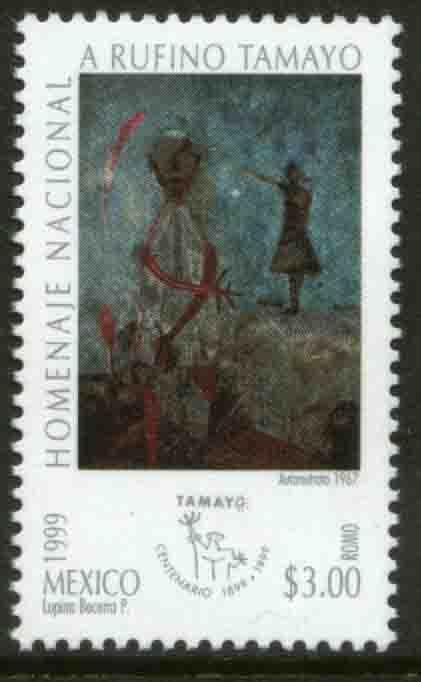 MEXICO 2157, Rufino Tamayo Centenary of his Birth. MINT, NH. VF.
