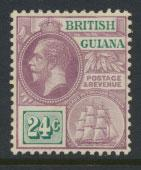 British Guiana SG 265 Mint Hinged  (Sc# 184 see details)