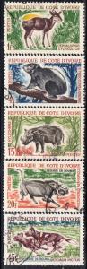 Ivory Coast #201-210  Used