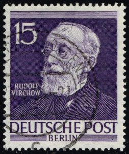Germany #9N89 Rudolf Virchow; Used (3Stars)