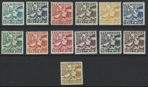 Netherlands Curacoa Scott C4-C16 MH! Complete Set! Allegory Flight!