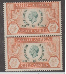 South Africa Scott #71 Stamps - Mint NH Pair