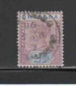 GRENADA #42  1895  2 1/2p  QUEEN VICTORIA     F-VF  USED