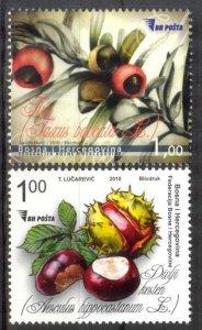 Bosnia 2010 Fruits MNH