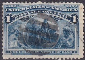 US #230  F-VF Used  (V4711)