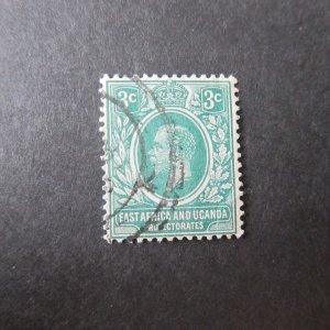 British East Africa 1921 Sc 3 FU