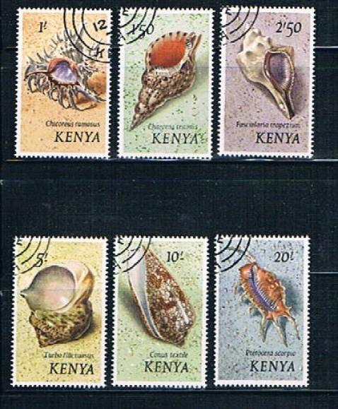 Kenya Scott 45-40 Sea Shells Used VF (ML0012)
