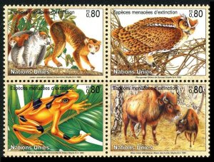 1995 UN Geneva 263-266VB Fauna 5,00 €