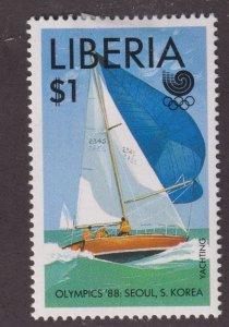 Liberia 1095 Summer Olympics, Seoul 1988