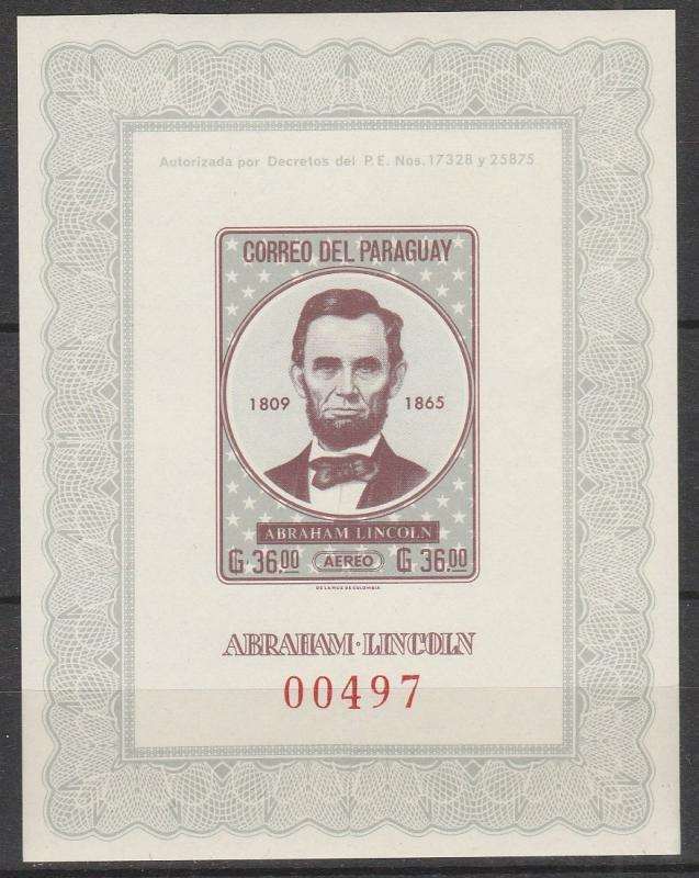Paraguay  #C313 MNH F-VF CV $10.00 (V187)