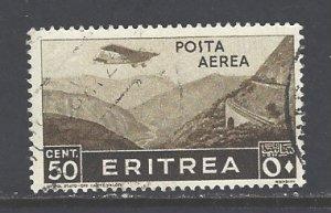 Eritrea Sc # C8 used (DT)