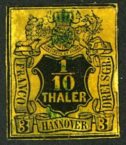 HANOVER #6 USED THINS REPAIRED TEARS