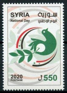 Syria Stamps 2020 MNH National Day Doves 1v Set