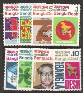 Bangladesh SC  9-16 MNH