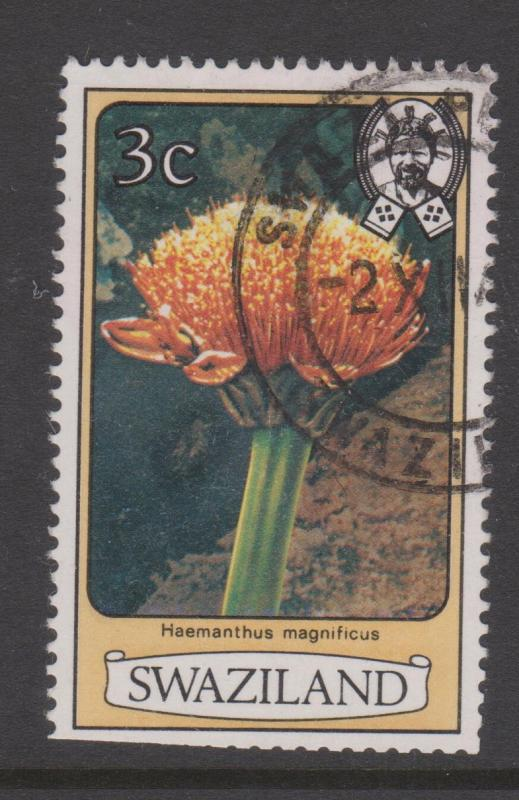 Swaziland 1980 Flowers Sc#348 Used