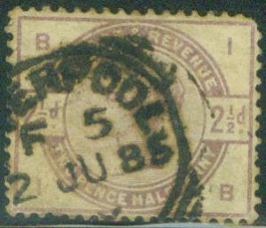 Great Britain Scott 101 1884 Queen Victoia CV$14